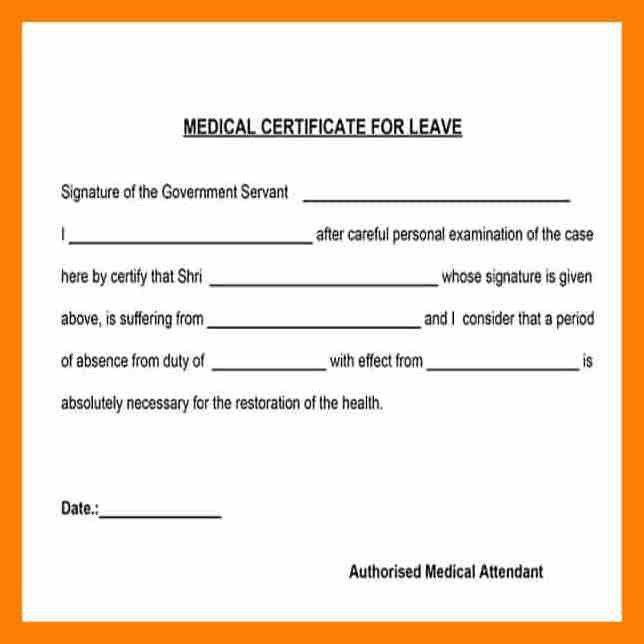 5+ sample medical certificate | appeal leter