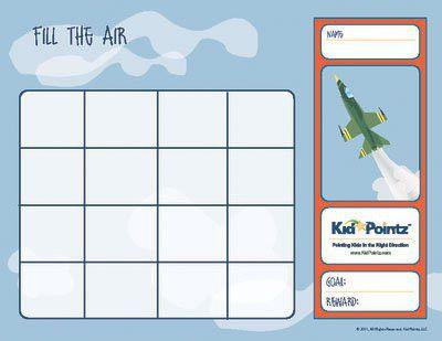 Sticker Charts   Kids Behavior Sticker Charts   Kid Pointz
