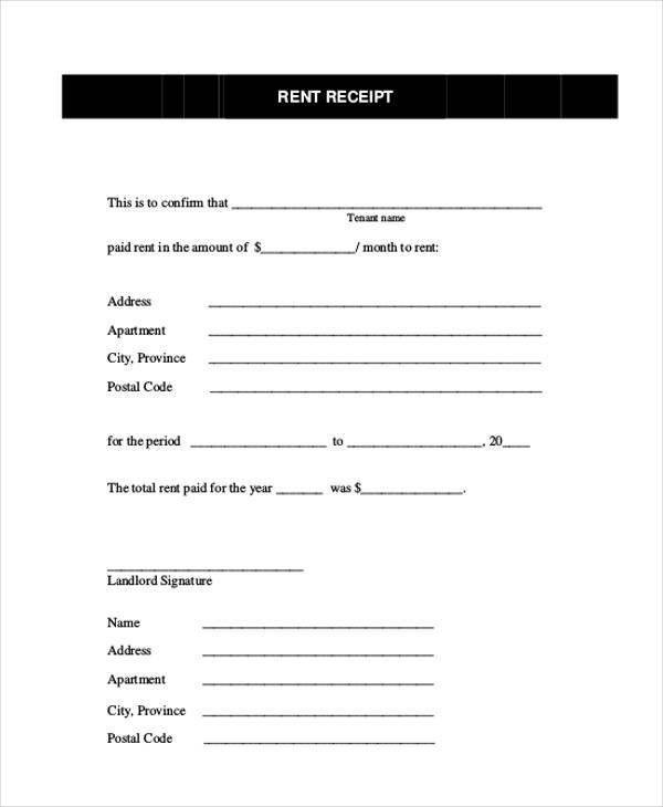 20+ Receipt Formats   Free & Premium Templates