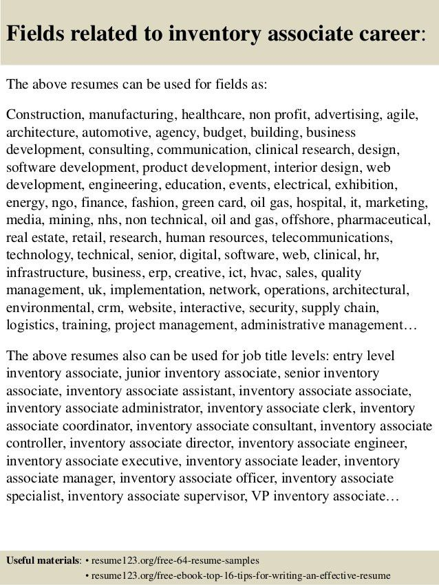 inventory control resume samples professional inventory control