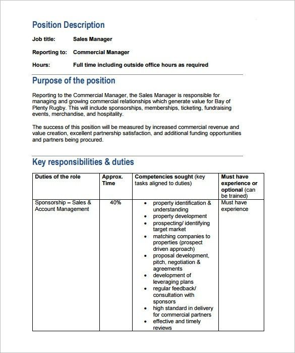 10+ Property Manager Job Description Templates - Free Sample ...