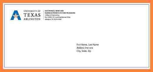 9+ envelope letter format examples   Bussines Proposal 2017