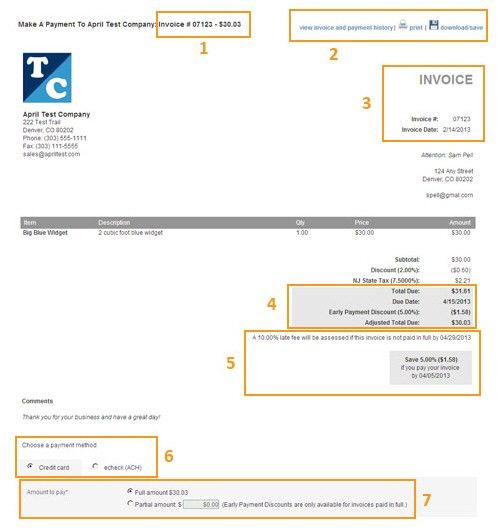 Paying Invoices in Customer Portal