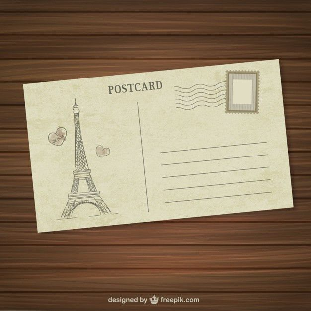 Postcard Vectors, Photos and PSD files | Free Download