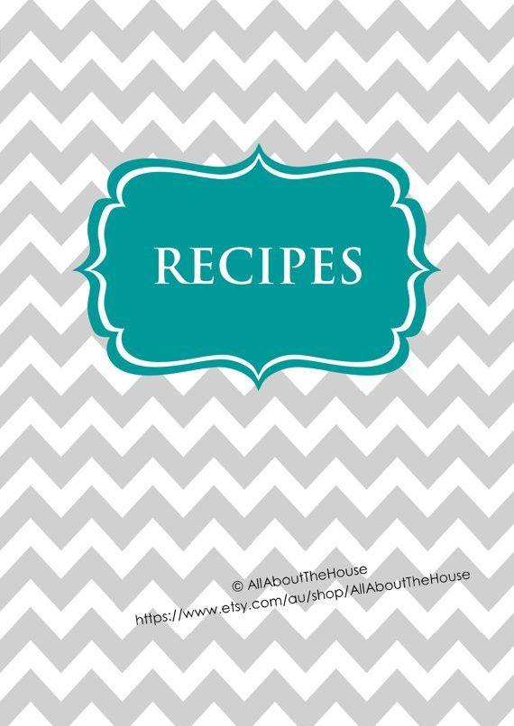 EDITABLE Recipe Binder Printables Recipe Sheet Recipe Card Recipes ...