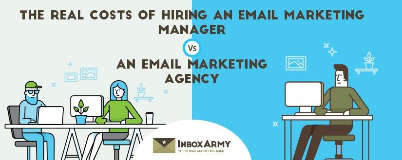 Real Costs of Hiring Email Marketing Manager or Email Marketing Agency