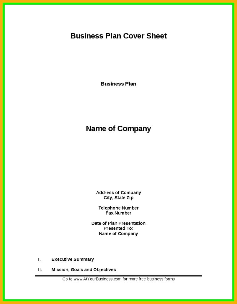 10 business proposal cover page bursary cover letter