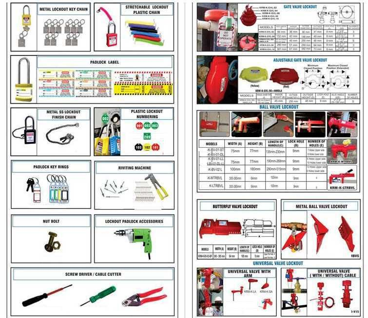 LOCKOUT TAGOUT PRODUCTS - Safepro Group