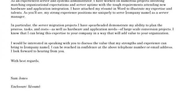 salary request in cover letters
