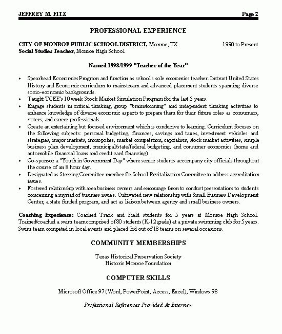 Download Leadership Resume Examples | haadyaooverbayresort.com