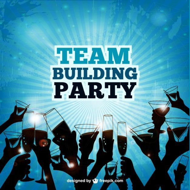 Team building party Vector | Free Download