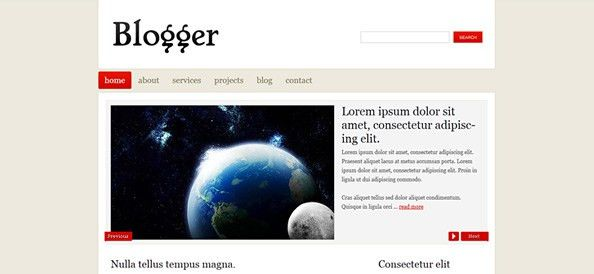 Blog - Free CSS Templates