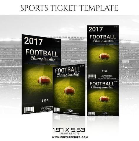 Basketball Sports Ticket Template