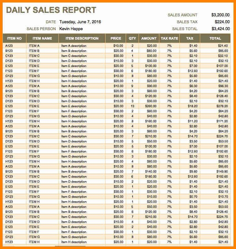 7+ daily activity report format in excel free - mail clerked