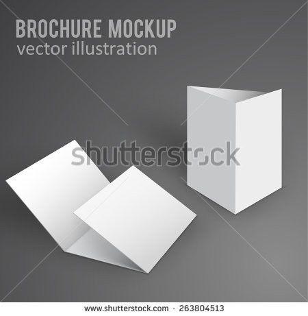 Blank Folded Brochure Vectors - Download Free Vector Art, Stock ...