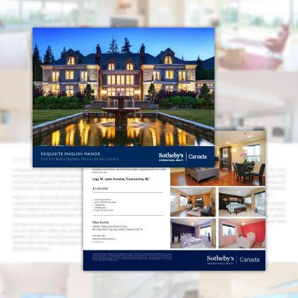 Extraordinary Real Estate Marketing Our Competition | Sotheby's ...