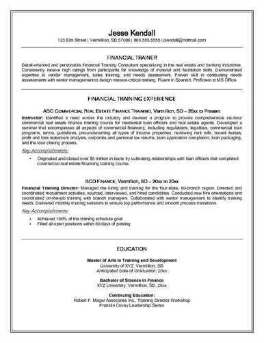 trainer resume unforgettable personal trainer resume examples to