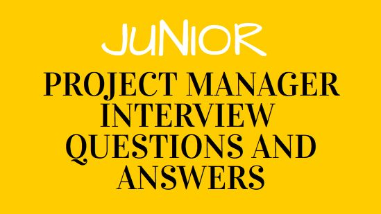 9 Lists of Project Manager Interview Questions and Answers ...