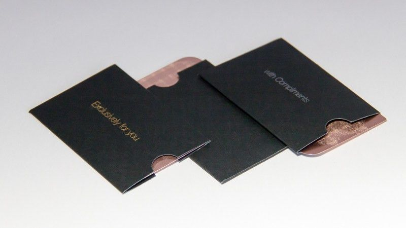 Business Card Sleeves - Danielpinchbeck.net