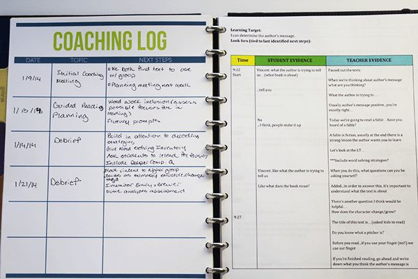 updated coaching notebook | Ms. Houser