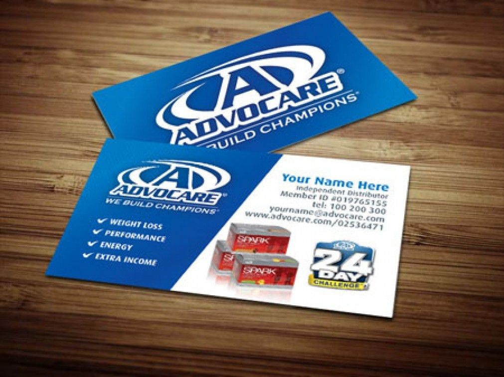Beautiful Advocare Business Card Template DF0L4 – Dayanayfreddy
