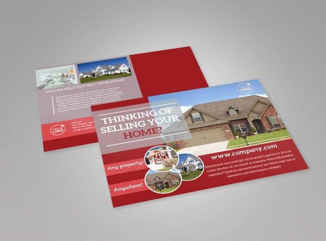Real Estate EDDM Postcard Templates | MyCreativeShop