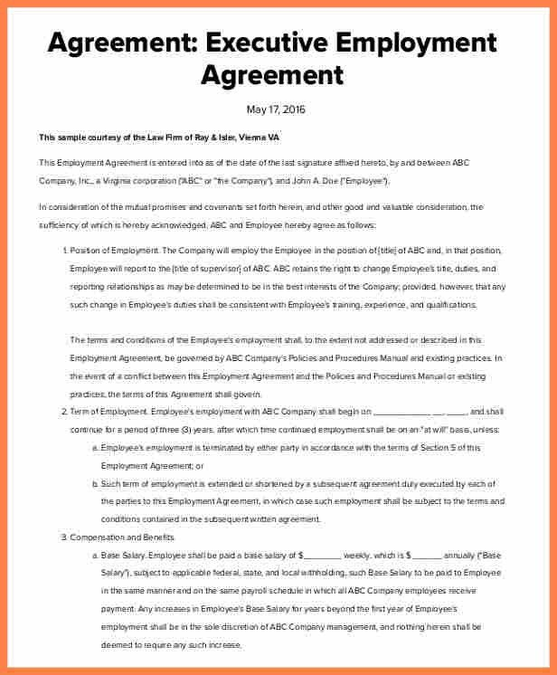 Executive Agreement Template. Bonus Plan Agreement Bonus Plan ...