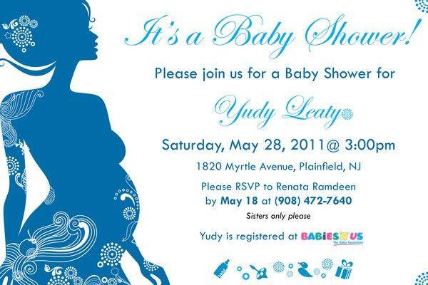 Sample Baby Shower Invitations - iidaemilia.Com