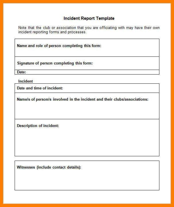 Sample Incident Reports. Sample Incident Report Writing Security ...