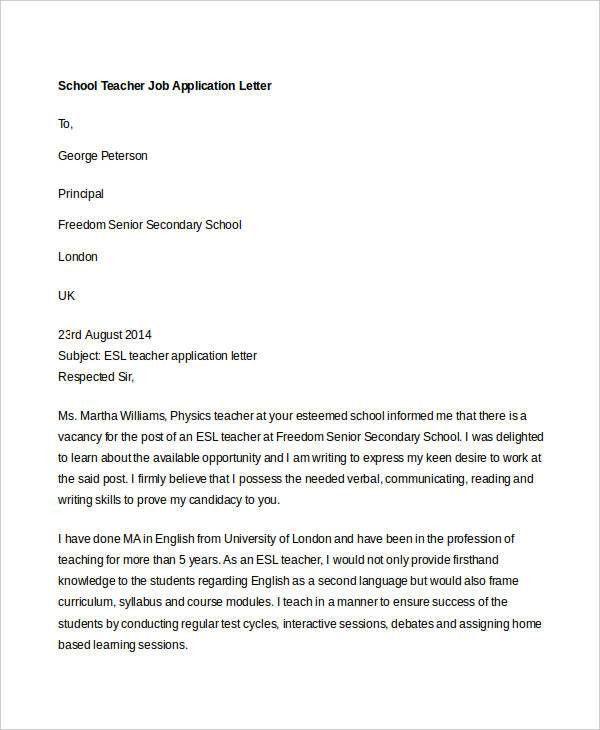 40+ Job Application Letters Format | Free & Premium Templates