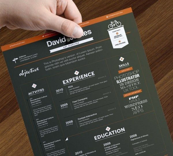 Creative Resume Template – 81+ Free Samples, Examples, Format ...