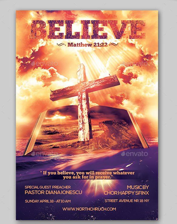 Church Flyers - 26+ Free PSD, AI, Vector EPS Format Download ...