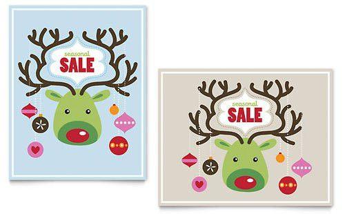 Christmas | Poster Templates | Holiday & Seasonal