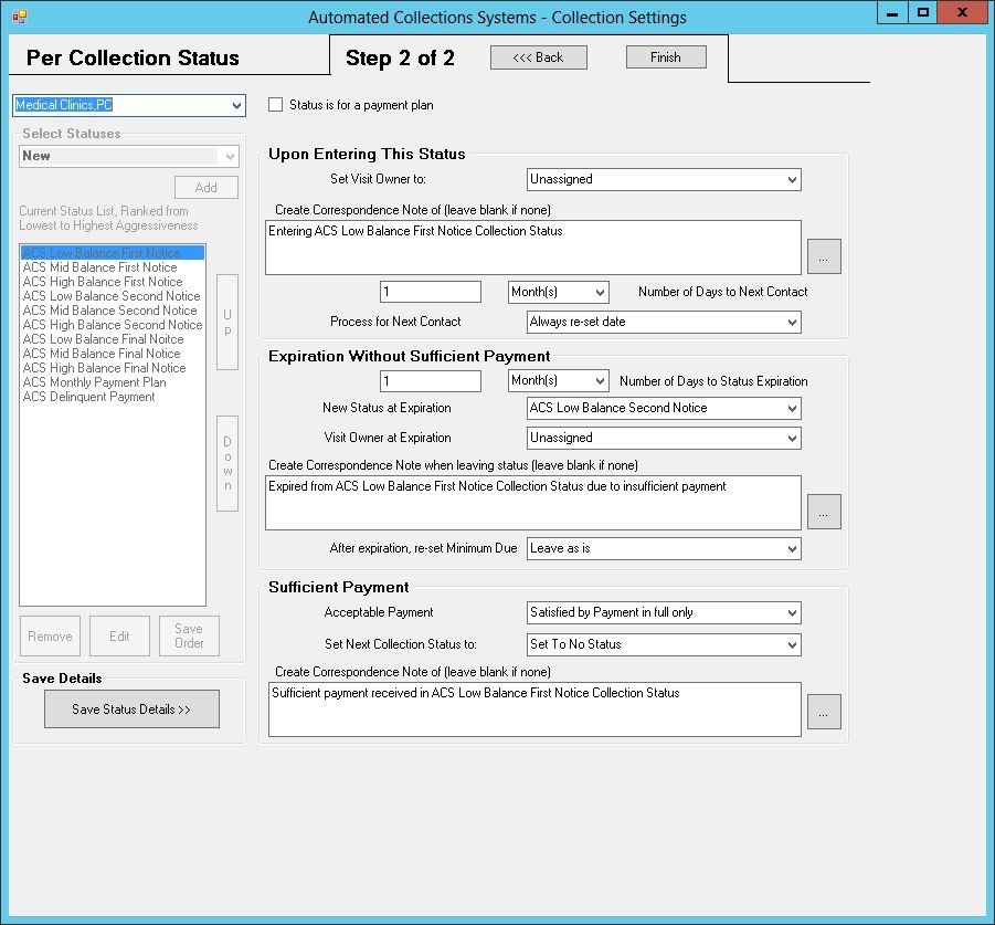 AUTOMATED COLLECTIONS SYSTEM | Summit Software Technologies, LLC