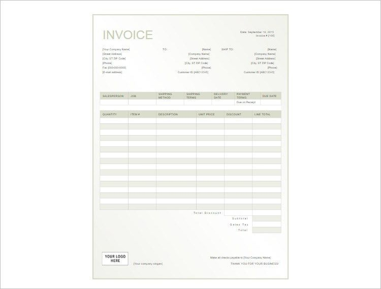 112+ Receipt Template - Free Word, PDF Documents | Creative Template