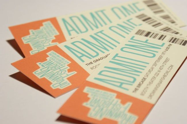 32 Excellent Ticket Design Samples | UPrinting