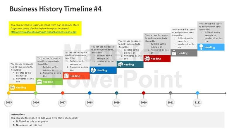 powerpoint presentation timeline template office timeline free ...