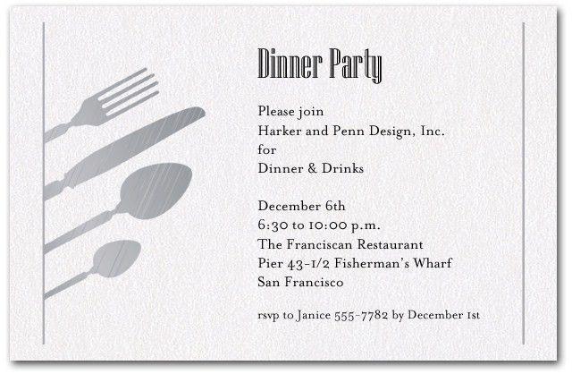 Birthday Dinner Invitation Wording | christmanista.com