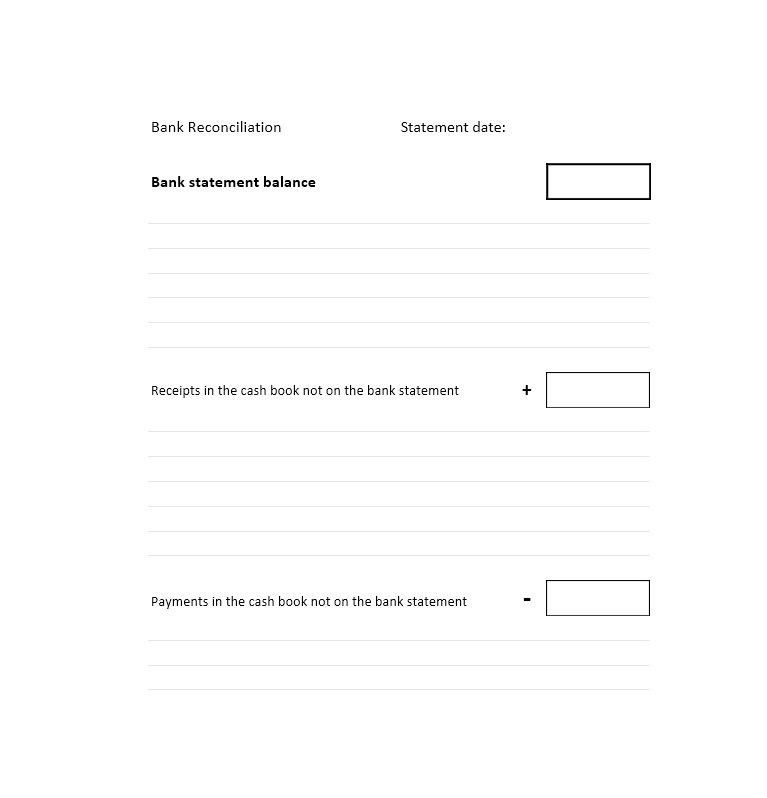 Bank Statement Template - Contegri.com