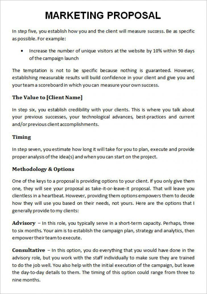 advertising agency proposal to client pdf   Best & Professional ...