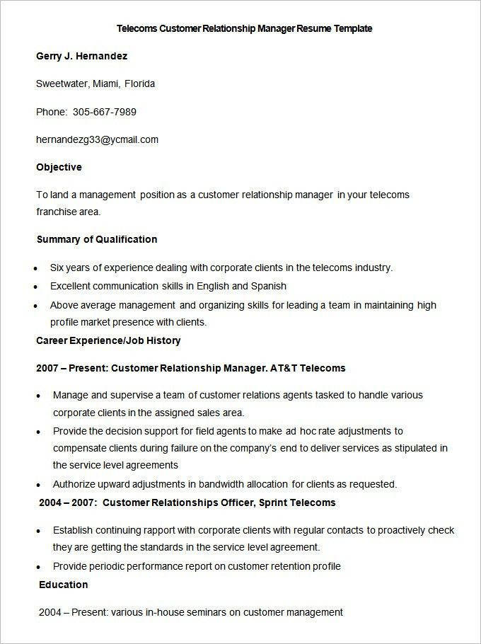 Free Example Of Resume. Resumes Example Graduate Financial Advisor ...