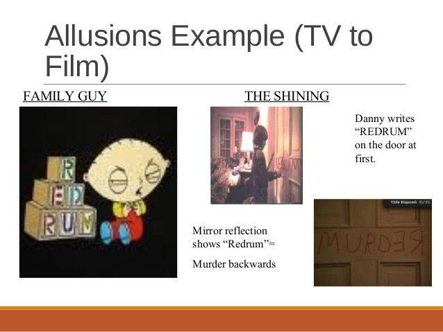 Allusions