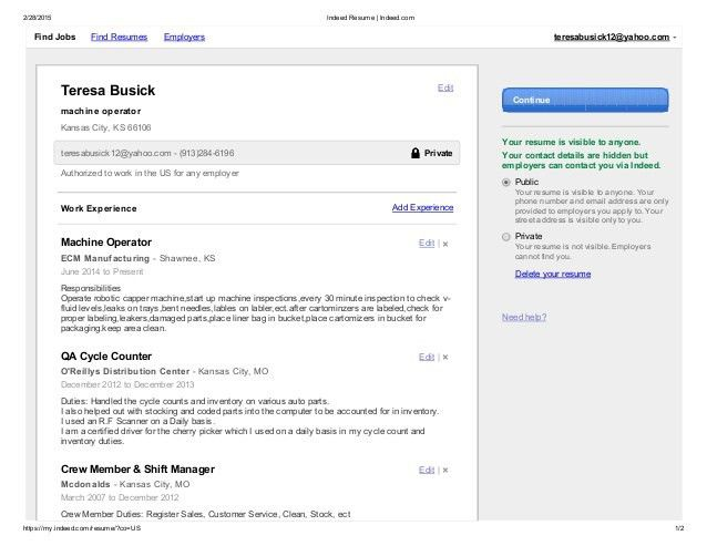 Indeed Post Resume 21 Posting Resume On Indeed - Example - uxhandy.com