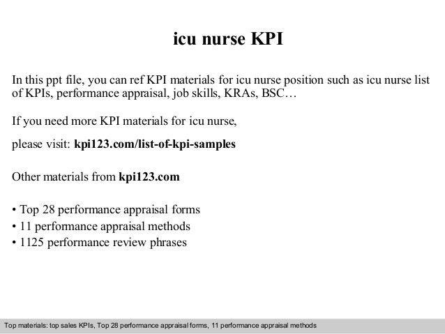 Icu nurse kpi