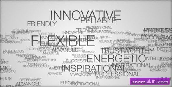 Videohive A Few Words » free after effects templates | after ...