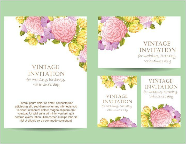 Wedding Invitation Background: 25 Classic And Unique Backgrounds