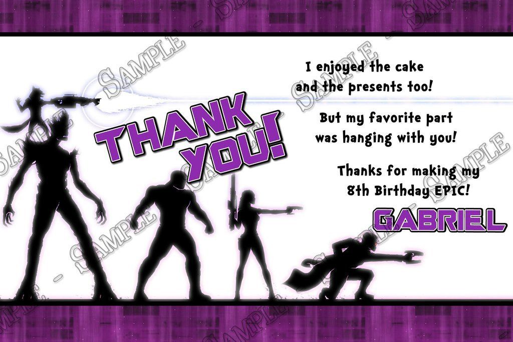 Novel Concept Designs - Guardians of the Galaxy Birthday Party ...
