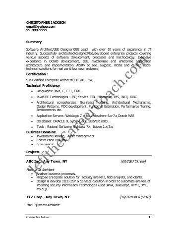 Architect Resume Samples Pdf. free interior design resume ...