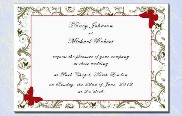 Wedding Invitations at Kings Cross