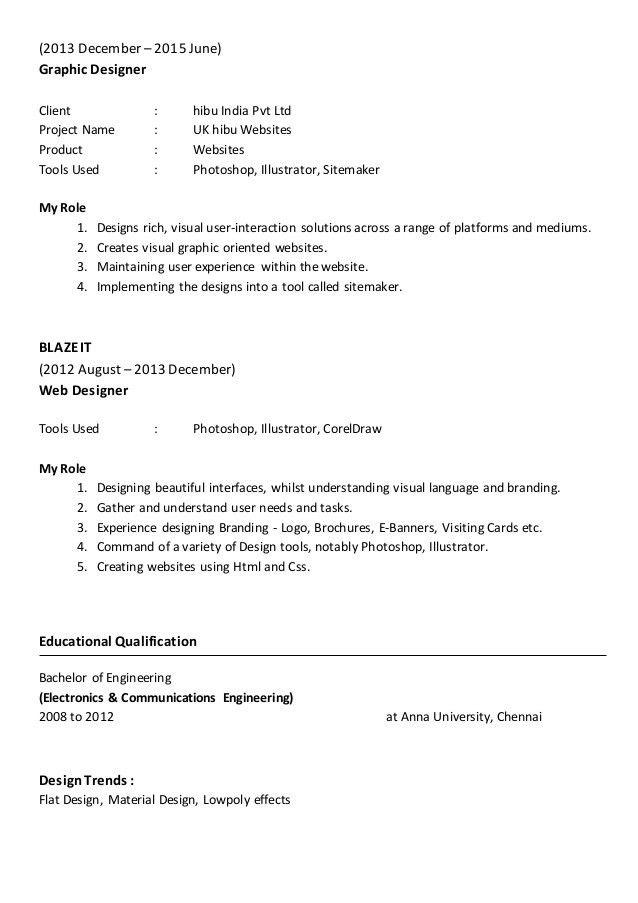 user interface designer resume download ui designer resume